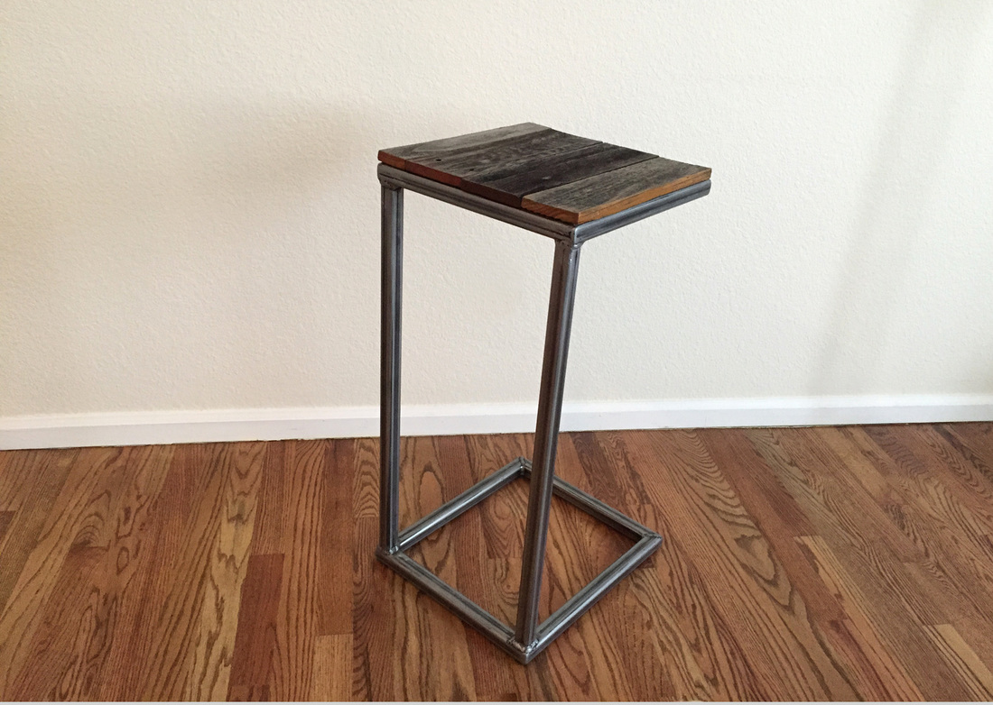 table C table C shaped table C table side table industrial C table