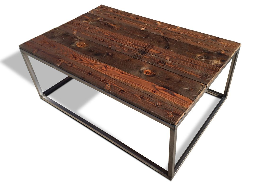 Industrial Coffee Cocktail Table Modern Furniture And Industrial Furniture By Kb Furnishings