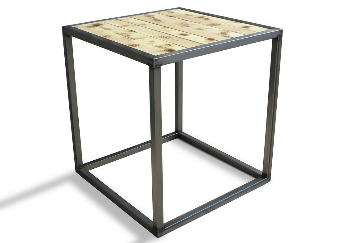 INDUSTRIAL COFFEE/COCKTAIL SIDE TABLE