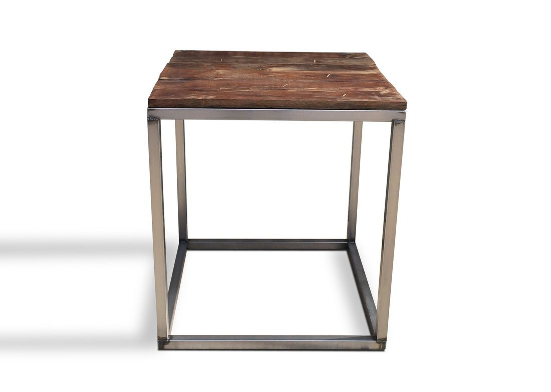 Denver Colorado Loft Furniture Industrial Modern Coffee End Table