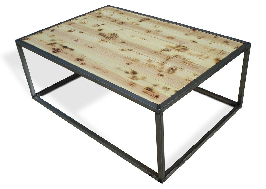 INDUSTRIAL MODERN COFFEECOCKTAIL TABLE SET KB FURNISHINGS - Denver modern furniture
