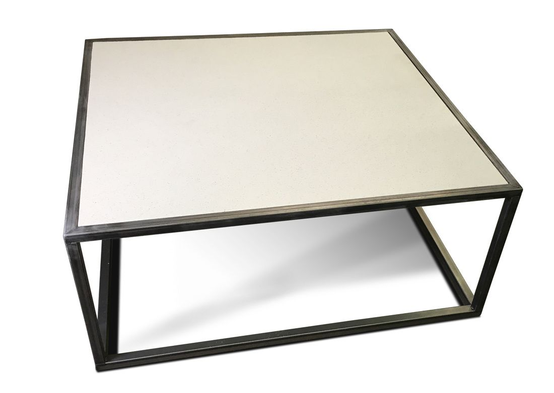 Denver Colorado Modern Furniture Quartz Tabletop Coffee Table