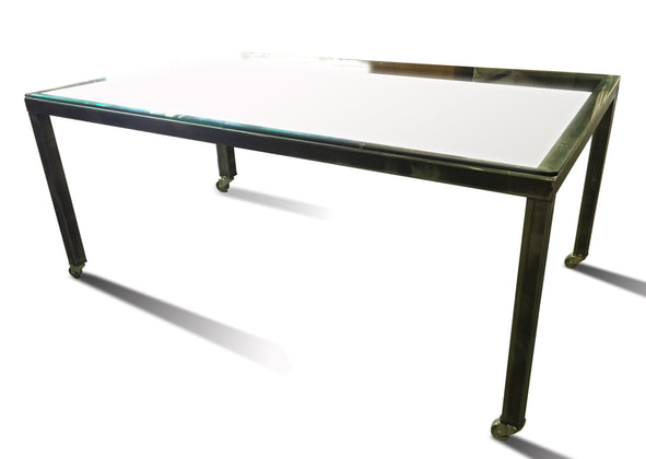 Denver Colorado modern furniture industrial dining table
