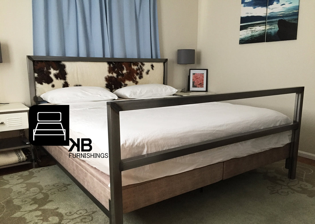 denver colorado industrial furniture modern king. STEEL BED, Denver Colorado Industrial Custom Made Headboard King Size Modern Bed Furniture L