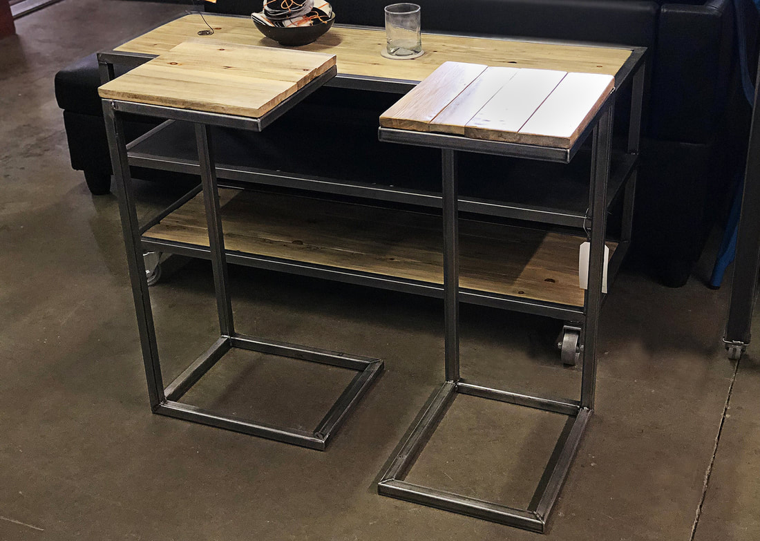 Industrial Coffee Cocktail C Table Modern Furniture And
