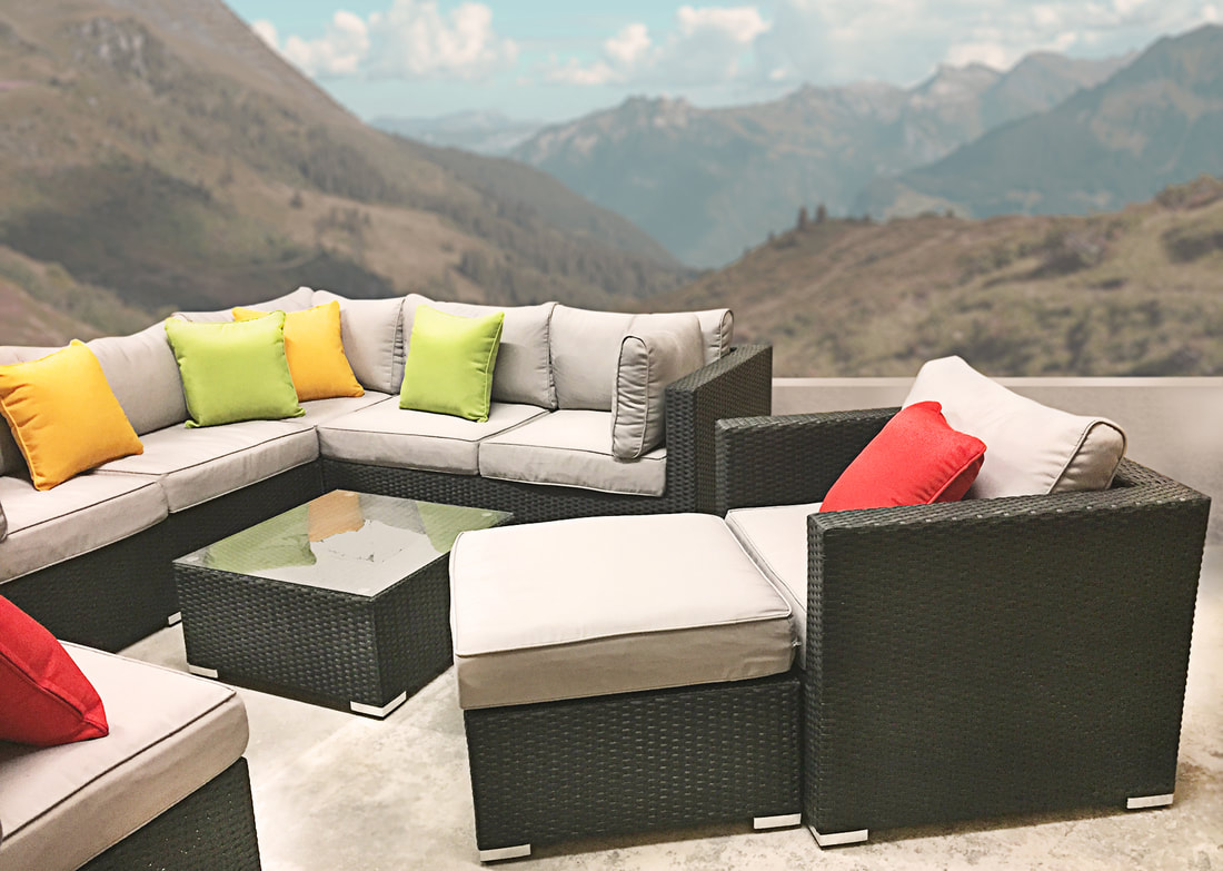 outdoor pillows, home furniture, outdoor furniture, modern outdoor furniture, upscale outdoor furniture, patio furniture, patio set, backyard patio set, affordable furniture, outdoor furniture set, Denver, Colorado, discount patio furniture, furniture store, patio dining set